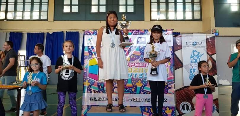 premios sub 10 FEM ARG