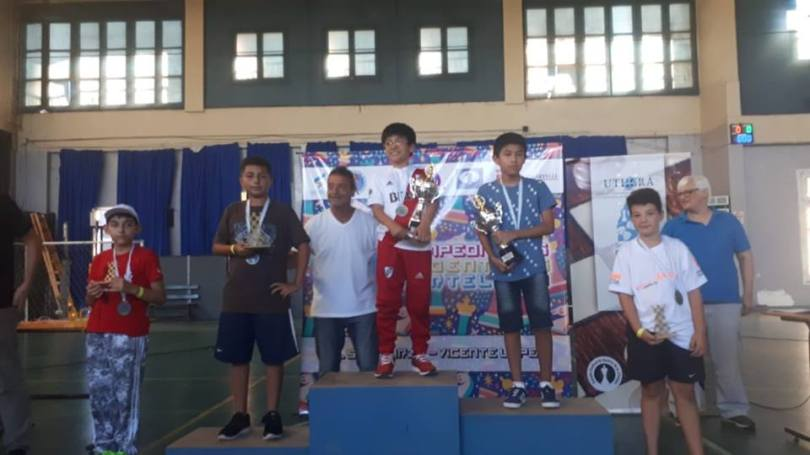 premios sub 12 MAS ARG