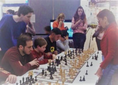 ajedrez en la feria del libro 5