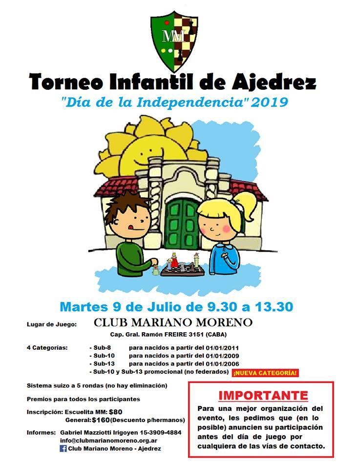 torneo 9 de julio en el Mariano MOreno